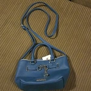 Reaction by Kenneth Cole blue purse New with tags